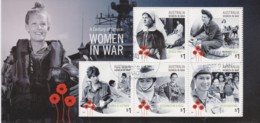 Australia 2017 Women In War - Century Of Service Minisheet CTO - See Notes - 2010-... Elizabeth II