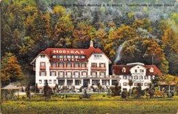 PIE.Z.19-PF.T-729 :  HOTEL PENSION KURHAUS A-G. ALDORF. TRAMHALTETELLE AB STATION FLÜELEN - UR Uri