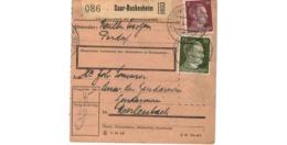Allemagne  - Colis Postal  Départ Saar Bückenheim - 2-3-43 - Allemagne