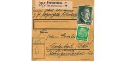 Allemagne  - Colis Postal  Départ Pogorschella  ( Kr  Krotoschin  )  - 8-2-43 - Allemagne
