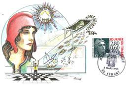 Carte Maxi Journée Du Timbre N°2933  04/03/1995 - Cartoline Maximum