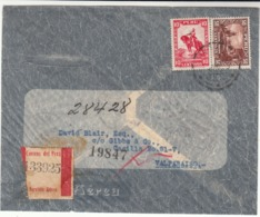 Peru / Airmail / Chile / Zeppelin See Through Envelopes - Perú