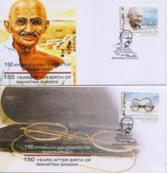 GREECE UNOFFICIAL FDC 2019/150 YEARS SINCE THE BIRTH OF GANDHI-7/9/19 - Mahatma Gandhi