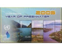 Ref. 613083 * MNH * - ZAMBIA. 2003. FRESH WATER WORLD YEAR . AÑO MUNDIAL DEL AGUA DULCE - Zambia (1965-...)