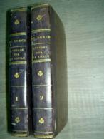 Lettres Sur La Sicile Et Sur L'Ile De Malthe (Malte) Comte De Borch 1782 Chez Les Frères Reycends Turin  2 Tomes  / Etna - Boeken, Tijdschriften, Stripverhalen