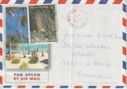Lettre Polynésie 1995 Pour La France - Polynésie Française