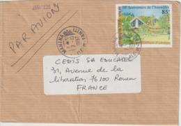Lettre Polynésie 1997 Pour La France - Lettres & Documents