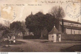 D64  GER  Place De L' ?glise- Monument Aux Morts  ..... - Francia