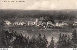 SUISSE  Côte Aux Fées ( Neuchâtel )  Vue Générale   ............. ( REP2135) - NE Neuenburg