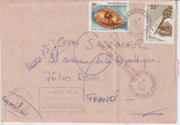 Lettre Polynésie 1998 Pour La France - Polynésie Française