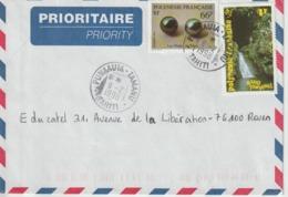 Lettre Polynésie 1998 Pour La France - Lettres & Documents