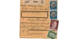 Allemagne  - Colis Postal  Départ Littai  -   14-11-42 - Deutschland