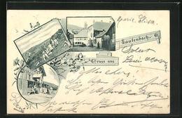 CPA Lautenbach, Vue De Belchenhaus, Grosser Belchen Et Vue De La Rue - Non Classés