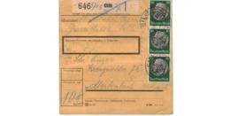 Allemagne  - Colis Postal  Départ Cilli -   18-11-42 - Allemagne