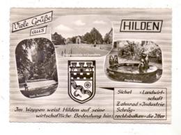 4010 HILDEN, Pinguin-Brunnen, Hagelkreuzstrasse, Parkanlagen, Stadtwappen, 1966 - Hilden