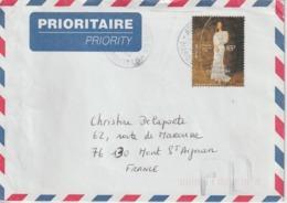 Lettre Polynésie 2000 Pour La France - Polynésie Française