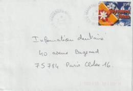 Lettre Polynésie 2002 Pour La France - Polynésie Française