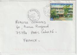 Lettre Polynésie 2003 Pour La France - Polynésie Française