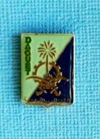 1 PIN'S //   ** SOUTIEN MATÉRIEL / OPÉRATION DAGUET / GUERRE DU GOLFE ** - Militaria
