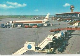 FIUMICINO AEROPORTO INTERCONTINENTALE DI ROMA LEONARDO DA VINCI AEREOPLANO    (7) - 1946-....: Era Moderna