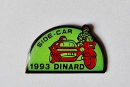Pin's Moto Side Car Dinard 1993 - BRETAGNE - Motos