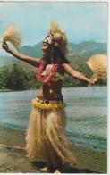 Polynésie Danseuse Du Film Coral Island - Polynésie Française