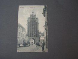 Gollnow Westpommern  Bahnhpost Stettin 1919 - Polen