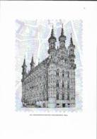 Beg. 2019 - Gravure - Maison Communale De Louvain/Leuven - Black-and-white Panes