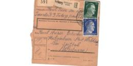 Allemagne  - Colis Postal  Départ Triberg ( Schwarzwald ) - Spittel  Waldheim - Allemagne