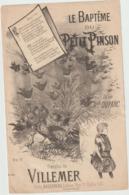 (ETH) Le Baptême Du Petit Pinson , DUPARC , Paroles  VILLEMER , - Partitions Musicales Anciennes