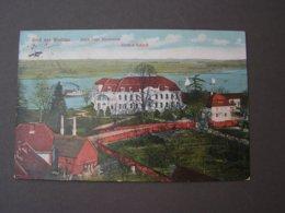 Wustrau , 1915  Ziethen Schloß - Wustermark