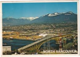 North Vancouver - Second Narrows Bridge  - (B.C., Canada) - Vancouver