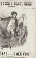 (ETH) TOUPETTISKO  BLAGUINSKI , Paroles CH VOIZO , Musique OMER FORT Illustration BOUCHOL - Partitions Musicales Anciennes