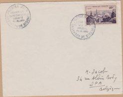 ENVELOPPE TIMBRE 1951 OBSERVATOIRE DU PIC DU MIDI DE BIGORRE (BAGNIERES DE BIGORRE) - FDC