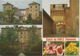 SALUTI DA VIRLE PIEMONTE    (26) - Saluti Da.../ Gruss Aus...