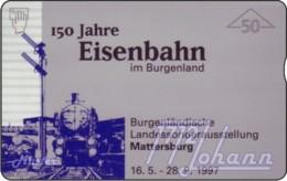 """TWK Österreich Privat: """"Eisenbahn Im Burgenland, 150 Jahre - 50E"""" Gebr. - Oesterreich"""
