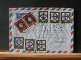 A10/501  LETTRE POUR MADAGASCAR 1959 - Briefe U. Dokumente