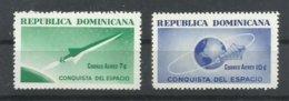 DOMINICANA  YVERT AEREO   173/74   MNH  ** - Dominicaine (République)
