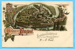 Gruss Aus Rheinau - Herzlichen Glückwunsch Zum Neuen Jahre ! 1903 - ZH Zurich