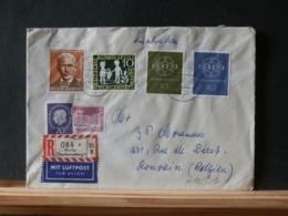 A10/502  LETTRE RECOMM. POUR LA BELG. 1960 - [7] République Fédérale