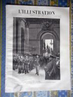 L' ILLUSTRATION 10/08/1889 PANTHEON CARNOT MARCEAU PARIS SORBONNE MODE LE BON MARCHE MAGASIN - Periódicos