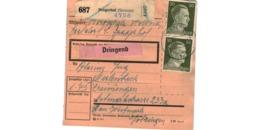 Allemagne  - Colis Postal  Départ Pragerhof  ( Steierm ) - Deutschland