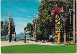 Vancouver - Stanley Park : Totem Poles - (B.C., Canada) - Vancouver