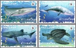 WWF: Preserved Wild Animals (MNH) - Thailand