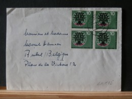 A10/512   LETTRE  ALLEMAGNE POUR LA BELG.  1960 - Briefe U. Dokumente