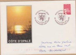 ENVELOPPE TIMBRE 2000 MARCOPHILEX XXIV (BONNINGUES LES CALAIS) - Marcophilie (Lettres)