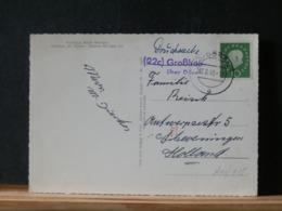 A10/515   CP  ALLEMAGNE  POUR LA HOLLANDE 1960 - Briefe U. Dokumente