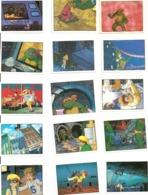 Turtles. Panini. Tortues Ninja (lot De 18 Cartes) (1990) - Edition Française