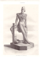Vers 1850 - Lithographie - François D'Orléans Prince De Joinville (Neuilly-sur-Seine 1818 - Paris 1900) - FRANCO DE PORT - Estampes & Gravures
