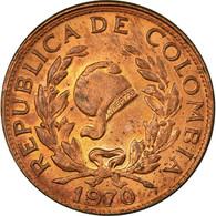 Monnaie, Colombie, 5 Centavos, 1970, TTB, Copper Clad Steel, KM:206a - Colombia